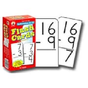 Carson Dellosa Publications Subtraction 0-12 Flash Cards