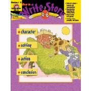 Evan-Moor How to Write A Story Grade 4-6 Book