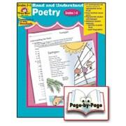 Evan-Moor Read and Understand Poetry Grade 2-3 Book