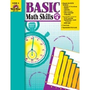 Evan-Moor Basic Math Skills Grade 4 Book