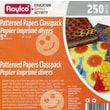 Roylco Inc Patterned Paper Classpack