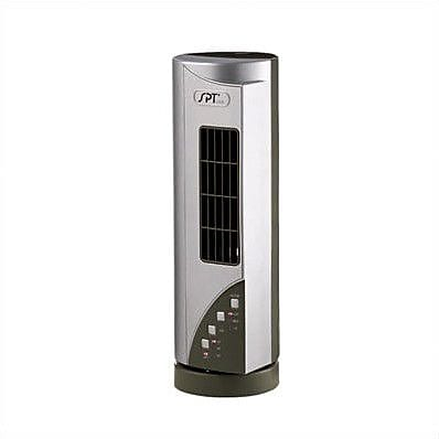Sunpentown Mini Tower Air Purifier with Ionizer