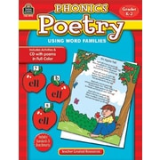 Teacher Created Resources Phonics Poetry Using Word Families Book