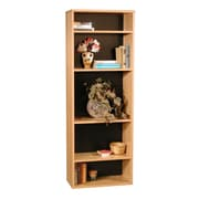 Rush Furniture Modular Real Oak Wood Veneer Furniture 65.5'' Standard Bookcase