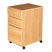 Rush Furniture Heirloom 3-Drawer Mobile File Cabinet