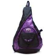 CalPak Sling Messenger Backpack; Purple
