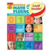 Evan-Moor Math Fluency Grade 4 Book