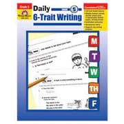 Evan-Moor Daily 6 Trait Writing Grade 5 Book