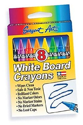 Sargent Art Inc Sargent Art White Board Crayons Lrg WYF078276582082