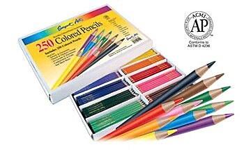 Sargent Art Inc Sargent Art Colored Pencils 250/pk WYF078276582081