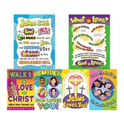 Teacher Created Resources God Is Love Bulletin Board Cut Out
