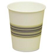 Boardwalk Paper Hot Cups, Blue & Tan, 20 Bags of 50, 1000/Carton, Various Sizes; 10 oz.