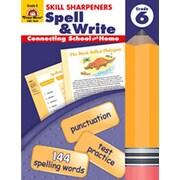 Evan-Moor Spell and Write Grade 6 Book
