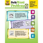 Evan-Moor Daily Word Problems Grade 3 Book