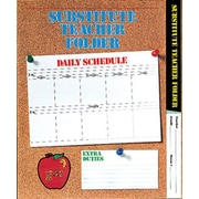 Carson Dellosa Publications Substitute Folder Elem Corkboard