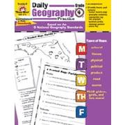 Evan-Moor Daily Geography Practice Grade 4 Book
