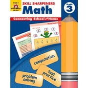 Evan-Moor Skills Sharpeners Math Grade 3 Book