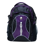 CalPak Highway 99 Deluxe Laptop Backpack; Purple