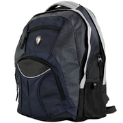 CalPak Mentor 17'' Deluxe Laptop Backpack; Navy Blue