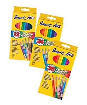 Sargent Art Inc Sargent Art Colored Pencils 12/set WYF078276592952