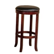 Sunny Designs Cappuccino 30'' Swivel Bar Stool with Cushion