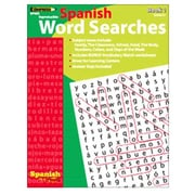 Edupress Spanish in a Flash Word Searches Book