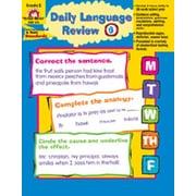 Evan-Moor Daily Language Review Grade 6 Book