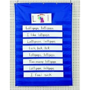Pacon Creative Products Pocket Blue Chart