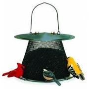 Sweet Corn Products Llc Original Caged Bird Feeder with Extended Roof; Green