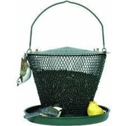 Sweet Corn Products Llc Tray Caged Bird Feeder; Green