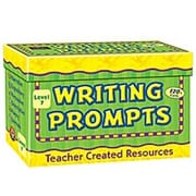 Teacher Created Resources Writing Prompts Gr 7 Flash Cards