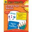 Teacher Created Resources Daily Warm Ups Language Skills Gr 3