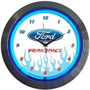 Neonetics 15'' Ford Racing Wall Clock