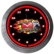 Neonetics 15'' Ford Fueled By Passion Wall Clock