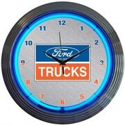 Neonetics 15'' Ford Trucks Wall Clock