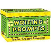 Teacher Created Resources Writing Prompts Gr 3 Flash Cards