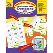 Evan-Moor Language Arts Centers Grade 4-6 Book