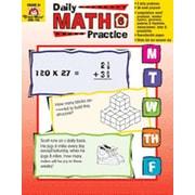 Evan-Moor Daily Math Practice Grade 6 Book