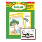Evan-Moor Science Centers Prek-k Book