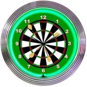 Neonetics 15'' Darts Wall Clock