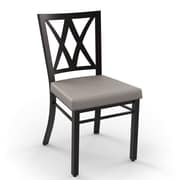 Amisco Washington Side Chair; Cobrizo