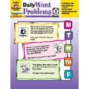 Evan-Moor Daily Word Problems Grade 2 Book