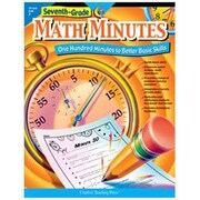 Creative Teaching Press Grade 7 Math Minutes Book