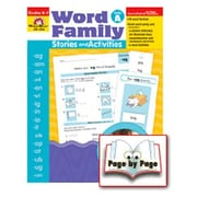 Evan-Moor Word Fam Stories and Activities Book
