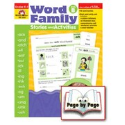 Evan-Moor Word Family Level B Book