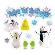 Edupress 43 Piece Let It Snow Mini Bulletin Board Cut Out Set
