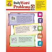 Evan-Moor Daily Word Problems Grade 6 Book