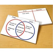 Learning Resources Venn Diagram Write and Wipe Notepad