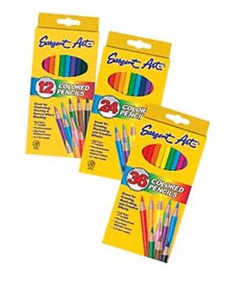 Sargent Art Inc Sargent Art Colored Pencils 36 WYF078276596642