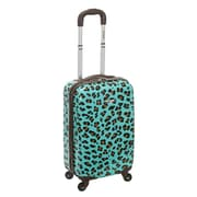 Rockland 20'' Spinner Suitcase; Blue